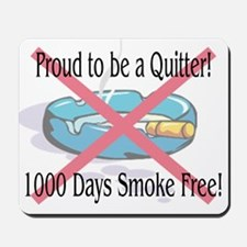 1000 Days Smoke Free Mousepad