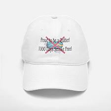 1000 Days Smoke Free Baseball Baseball Cap