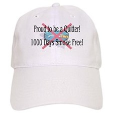 1000 Days Smoke Free Baseball Cap