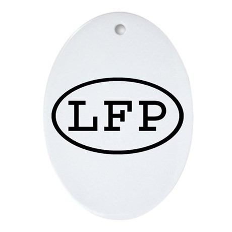 LFP Oval Oval Ornament