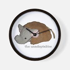 Unadoptables 4 Wall Clock