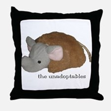 Unadoptables 4 Throw Pillow
