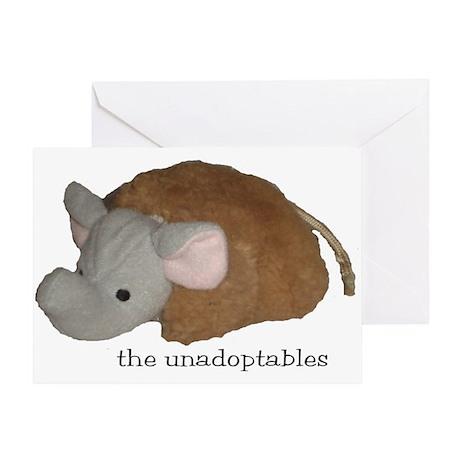 Unadoptables 4 Greeting Card