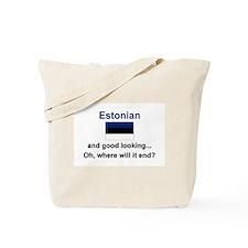 Good Looking Estonian Tote Bag