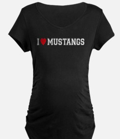 I Love Mustangs T-Shirt