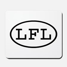 LFL Oval Mousepad