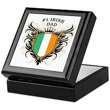 Number One Irish Dad Keepsake Box