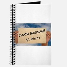 Chair Massage $1 Minute Journal