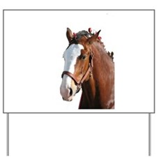 Helaine's Clydesdale Yard Sign