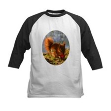 Strawberry Squirrel Oval Tee