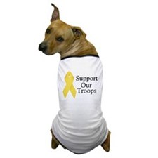 Yellow Ribbon Support Dog T-Shirt