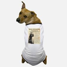 Wanted Ike Clanton Dog T-Shirt