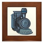 Railroad Mason Framed Tile