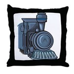 Railroad Mason Throw Pillow