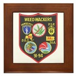 Weed-Wackers Framed Tile