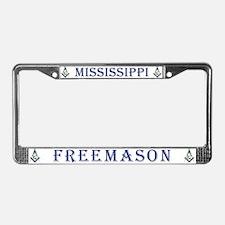 Mississippi Masonic License Plate Frame