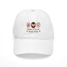 Peace Love Route 66 Road Trip Baseball Cap