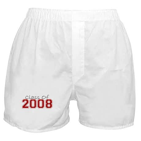 Class Of 2008 (Maroon Varsity) Boxer Shorts