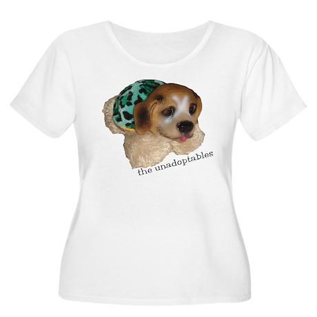 Unadoptables 5 Women's Plus Size Scoop Neck T-Shir