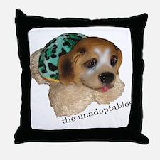 Unadoptables 5 Throw Pillow