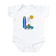Cute California boy Infant Bodysuit