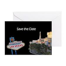 Save the Date Las Vegas Wedding Cards (Pk of 10)