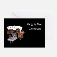 Lucky in Love Las Vegas Wedding Cards 10