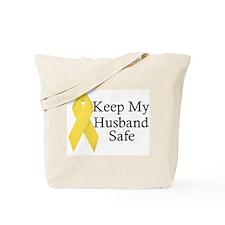 Keep My Husband Safe Tote Bag