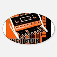 Oscillator Oval Decal