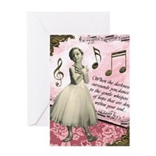Dance To The Whispers Greeting Card