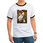 Windflowers / Ital Greyhound Ringer T
