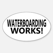 Waterboarding Works Oval Decal