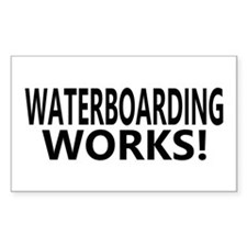 Waterboarding Works Rectangle Decal
