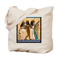 Nubian Musicians Egyptian Tote Bag