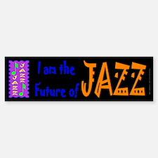 Future of Jazz Kids Dark Bumper Bumper Bumper Sticker