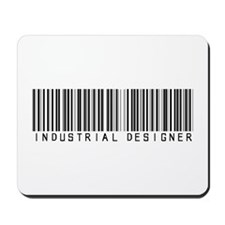 Industrial Designer Barcode Mousepad