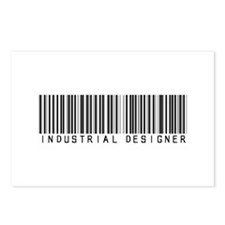 Industrial Designer Barcode Postcards (Package of