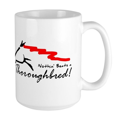 Thoroughbred Large Mug