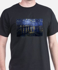 Starry_Night_Over_the_Rhone T-Shirt