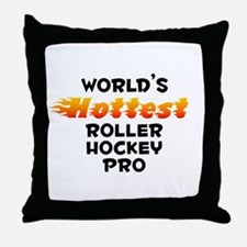 World's Hottest Rolle.. (B) Throw Pillow