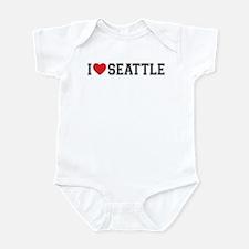 I Love Seattle Infant Bodysuit
