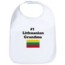 #1 Lithuanian Grandma Bib
