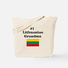 #1 Lithuanian Grandma Tote Bag