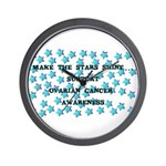 OVARIAN CANCER AWARENESS Wall Clock