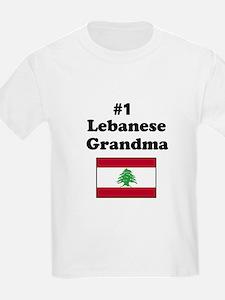 #1 Lebanese Grandma T-Shirt