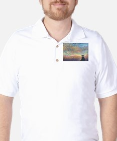 In the colour of evening Golf Shirt