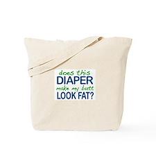 Diaper Fat Butt Tote Bag