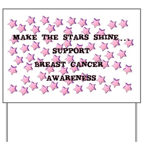 BREAST CANCER AWARENESS Yard Sign