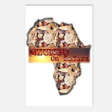 Mzungu On Safari - Postcards (Package of 8)