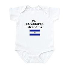 #1 Salvadoran Grandma Infant Bodysuit